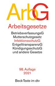 Arbeitsgesetze, ArbG - Cover