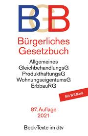 Bürgerliches Gesetzbuch, BGB - Cover