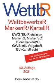 Wettbewerbsrecht, Markenrecht und Kartellrecht - Cover