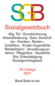 Sozialgesetzbuch mit Sozialgerichtsgesetz - Cover