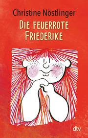 Die feuerrote Friederike - Cover
