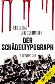 Der Schädeltypograph - Cover