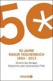 50 Jahre Knaur Taschenbuch 1963-2013 - Cover