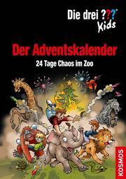 Die drei ??? Kids - Der Adventskalender: 24 Tage Chaos im Zoo - Cover