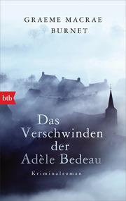 Das Verschwinden der Adèle Bedeau - Cover