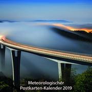 Meteorologischer Postkarten-Kalender 2019
