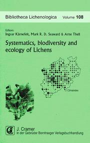 Systematics, biodiversity and ecology of lichens