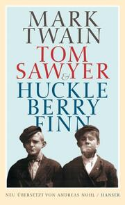 Tom Sawyer & Huckleberry Finn - Cover