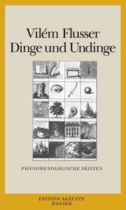 Dinge und Undinge - Cover