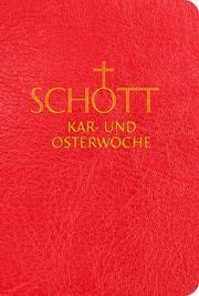 SCHOTT Kar- und Osterwoche - Cover