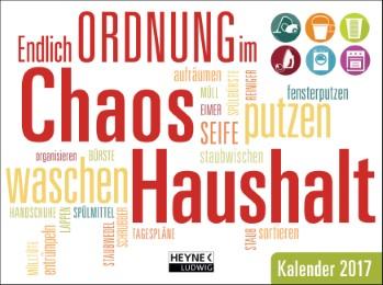 Endlich Ordnung im Chaos Haushalt 2017 - Cover