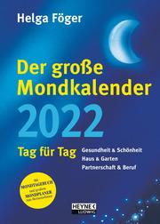 Der große Mondkalender 2022 - Cover