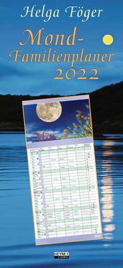 Mond-Familienplaner 2022 - Cover
