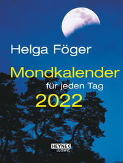 Mondkalender für jeden Tag 2022 - Cover