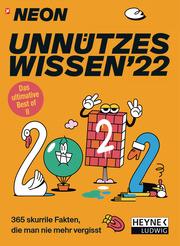 NEON - Unnützes Wissen 2022 - Cover