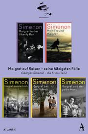 Maigret auf Reisen - seine hitzigsten Fälle