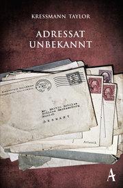 Adressat unbekannt - Cover