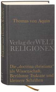 Die 'doctrina christiana' als Wissenschaft