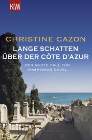 Lange Schatten über der Côte d'Azur - Cover