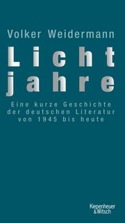 Lichtjahre - Cover