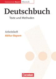 Deutschbuch - Oberstufe - Gymnasium Bayern - Cover
