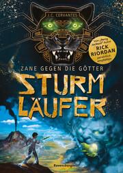 Zane gegen die Götter - Sturmläufer - Cover