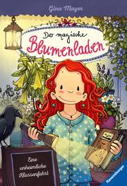 Der magische Blumenladen - Eine unheimliche Klassenfahrt - Cover