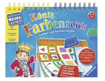 König Farbenreich - Cover