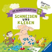 Im Kindergarten: Schneiden und Kleben - Cover