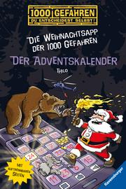 Der Adventskalender - Die Weihnachtsapp der 1000 Gefahren - Cover