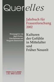 Querelles Jahrbuch für Frauenforschung 2002