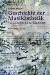 Geschichte der Musikästhetik - Cover