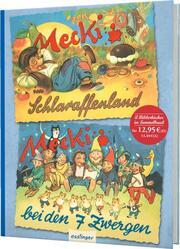 Mecki im Schlaraffenland/Mecki bei den 7 Zwergen - Cover