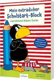 Der kleine Rabe Socke: Mein extradicker Schulstart-Block