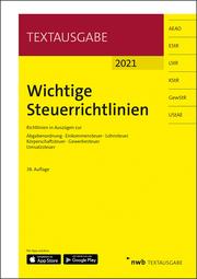 Wichtige Steuerrichtlinien - Cover