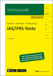 IAS/IFRS-Texte 2021/2022 - Cover