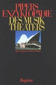 Pipers Enzyklopädie des Musiktheaters