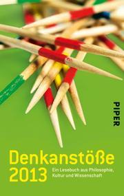Denkanstöße 2013 - Cover
