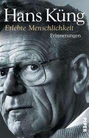 Erlebte Menschlichkeit - Cover