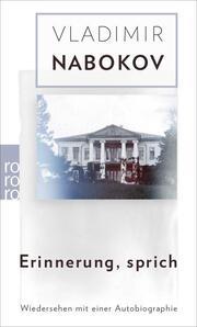 Erinnerung, sprich - Cover