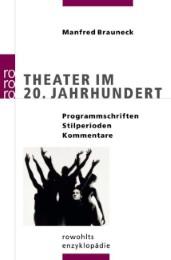 Theater im 20.Jahrhundert - Cover