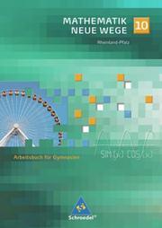 Mathematik Neue Wege SI - Ausgabe 2005 für Rheinland-Pfalz - Cover
