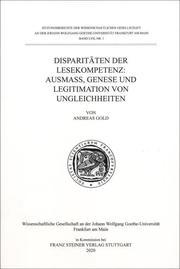 Disparitäten der Lesekompetenz: Ausmaß, Genese und Legitimation von Ungleichheiten