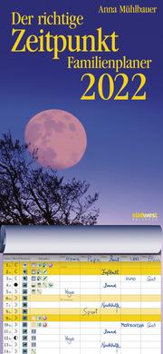 Der richtige Zeitpunkt - Familienplaner 2022 - Cover