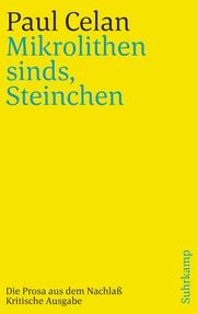 'Mikrolithen sinds, Steinchen'