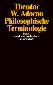 Philosophische Terminologie 1