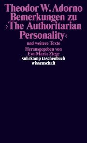 Bemerkungen zu >The Authoritarian Personality<