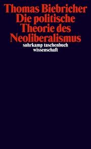 Die politische Theorie des Neoliberalismus - Cover