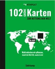 102 grüne Karten zur Rettung der Welt - Cover