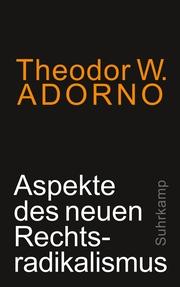 Aspekte des neuen Rechtsradikalismus - Cover